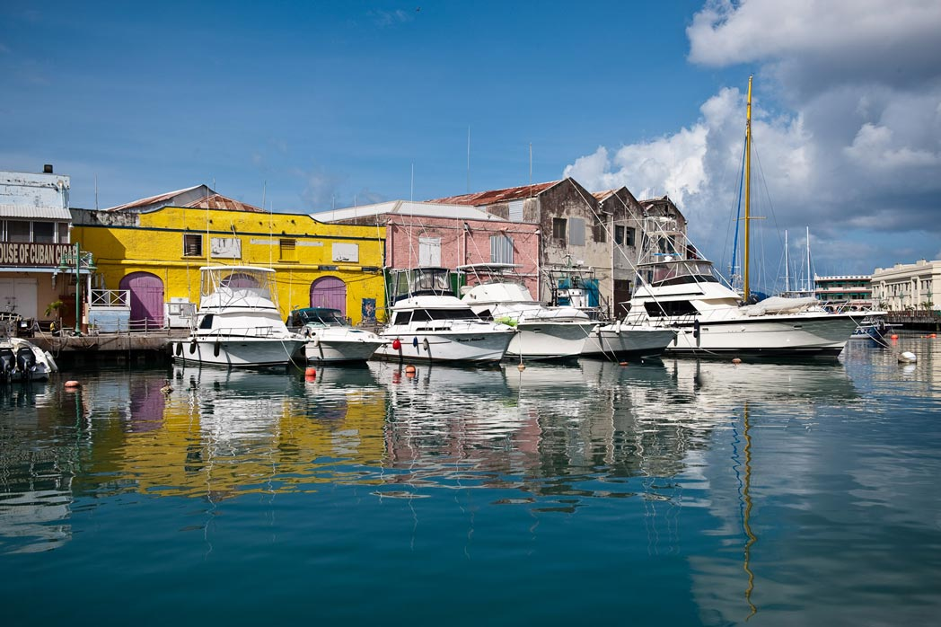 Hafen in Bridgetown