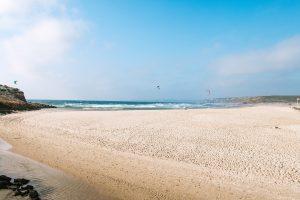 Kitesurfen an der Algarve