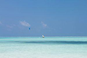 Sansibar-Kitesurfer