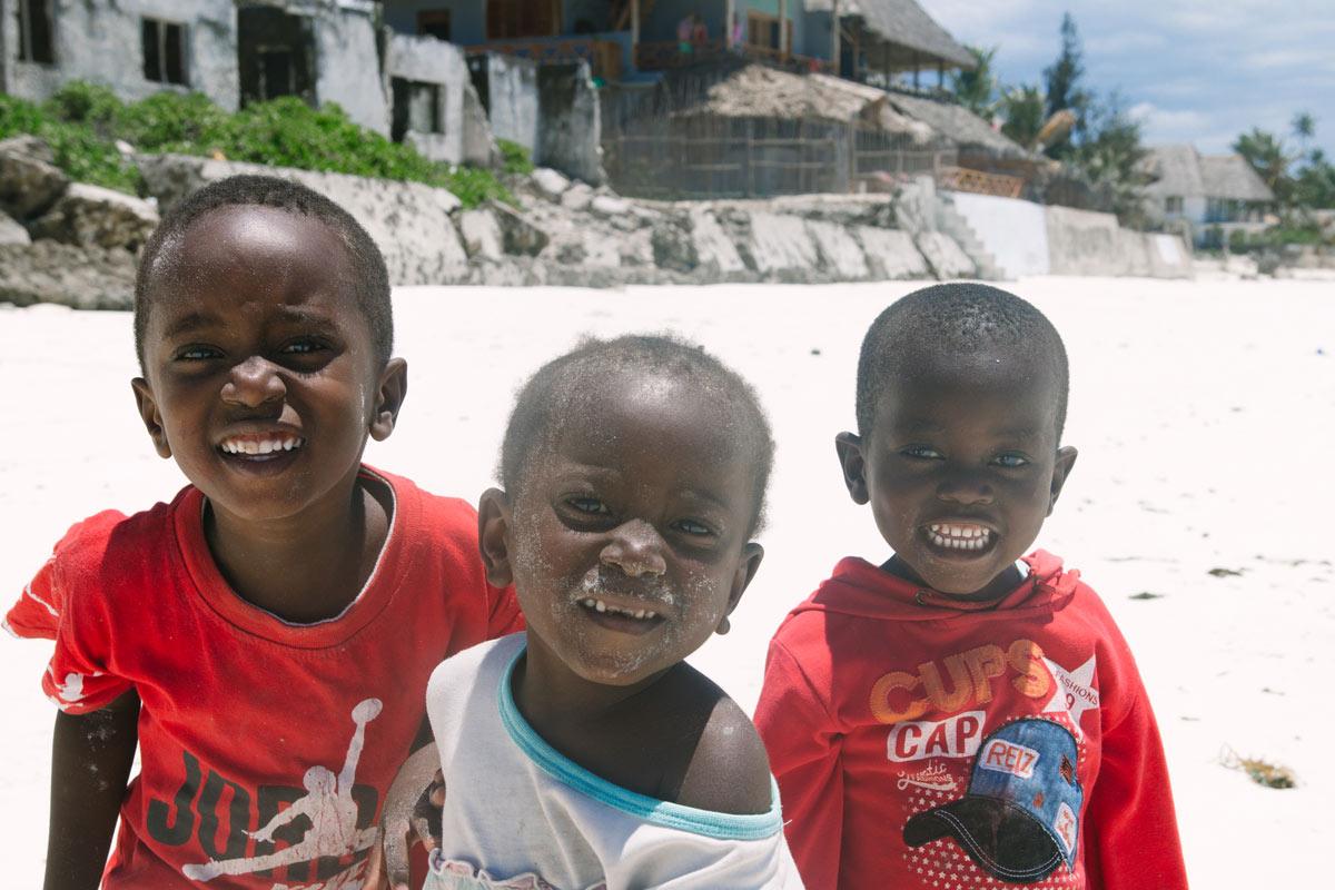Kinder-auf-Sansibar