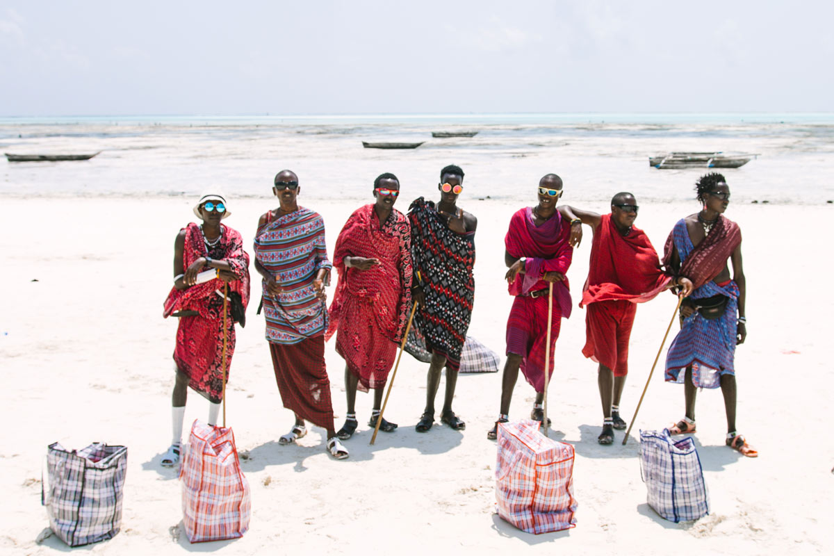 Massai-auf-Sansibar
